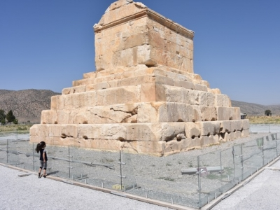 Karos-Grab in Pasargadae