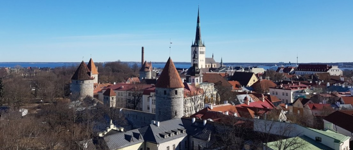 Tallinn Panorama Winter